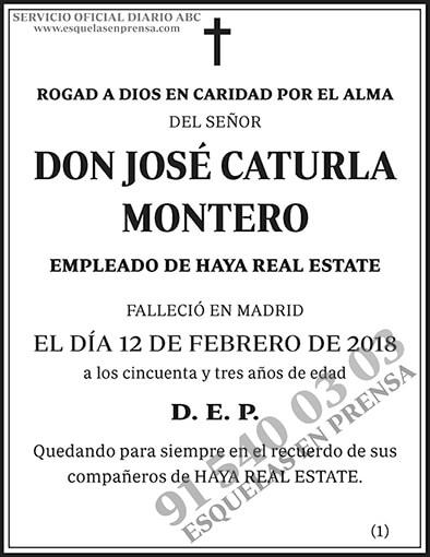 José Caturla Montero